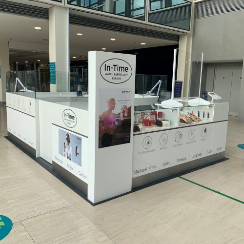 In-Time's latest kiosk opening in Milton Keynes: A closer look.